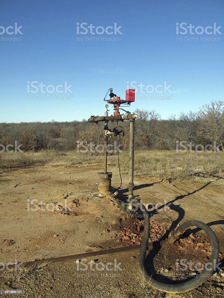 Oilfield Equipment stock photo