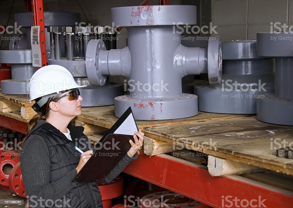 Oilfield Inventory royalty-free stock photo