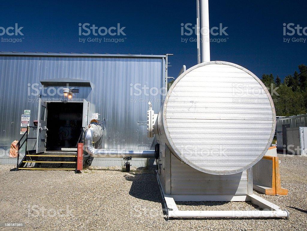 Oilfield (six) stock photo
