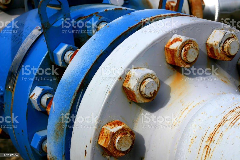 Oilfield # 10 stock photo