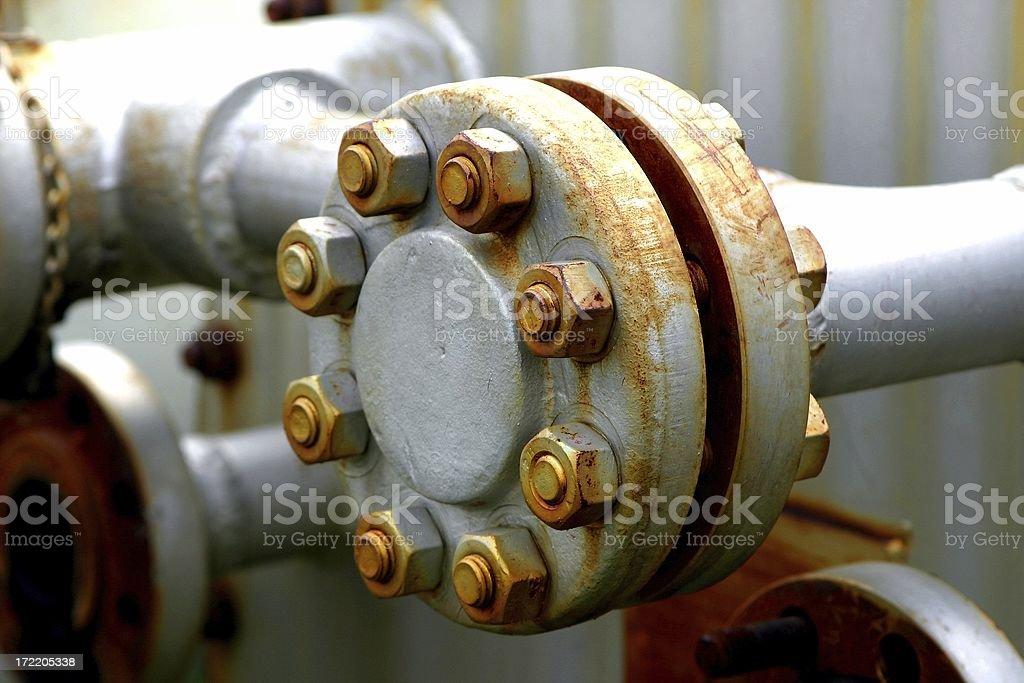 Oilfield # 7 royalty-free stock photo