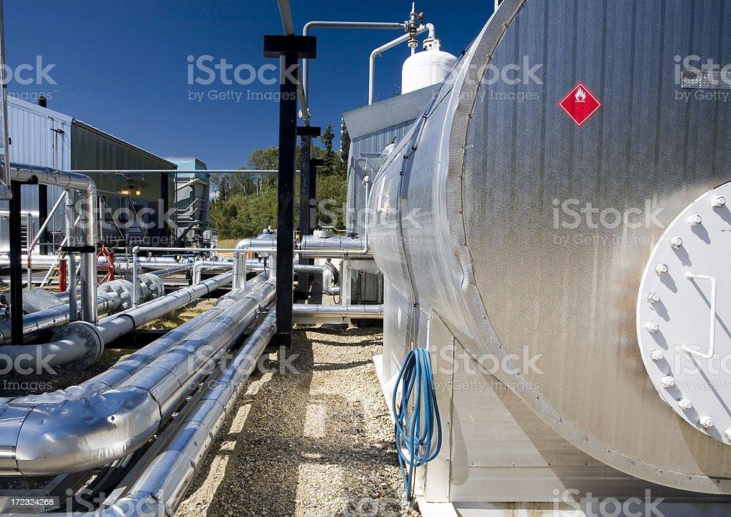 Oilfield (nine) stock photo