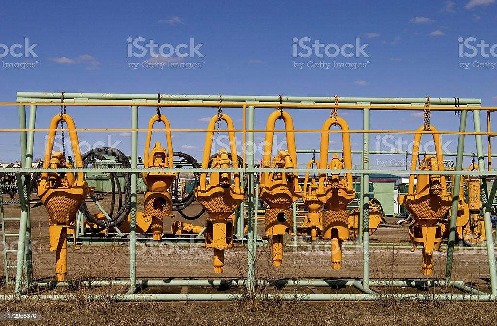Oilfield # 11 royalty-free stock photo