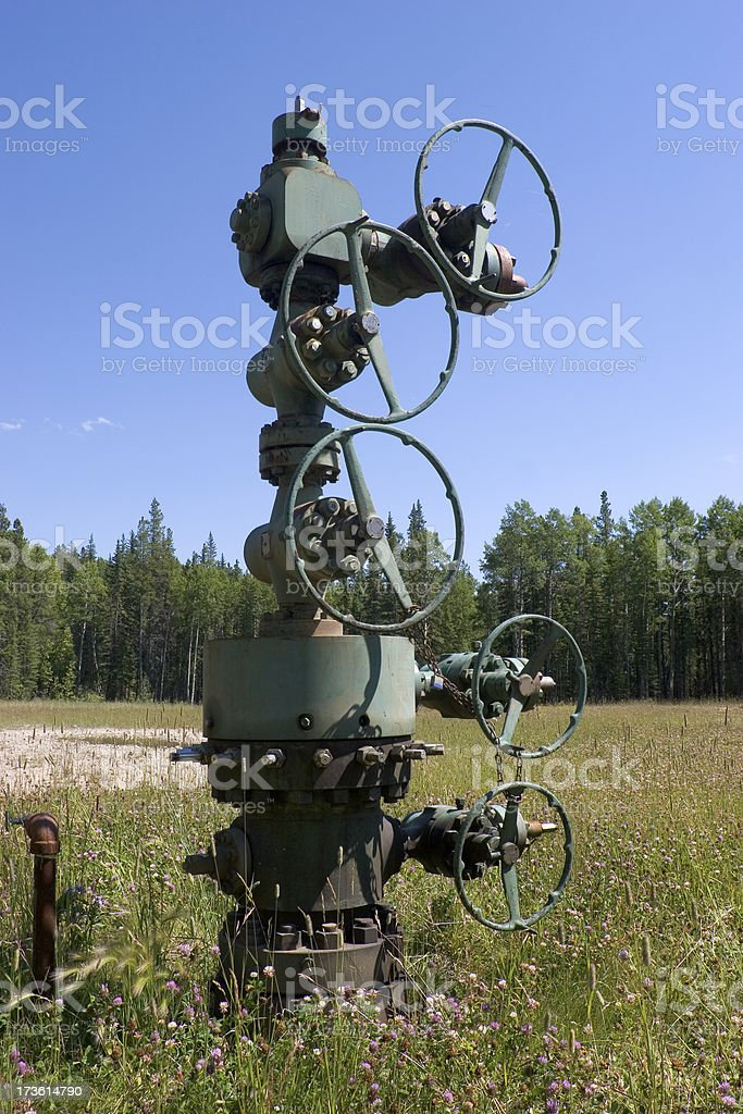 Oilfield # 13 royalty-free stock photo