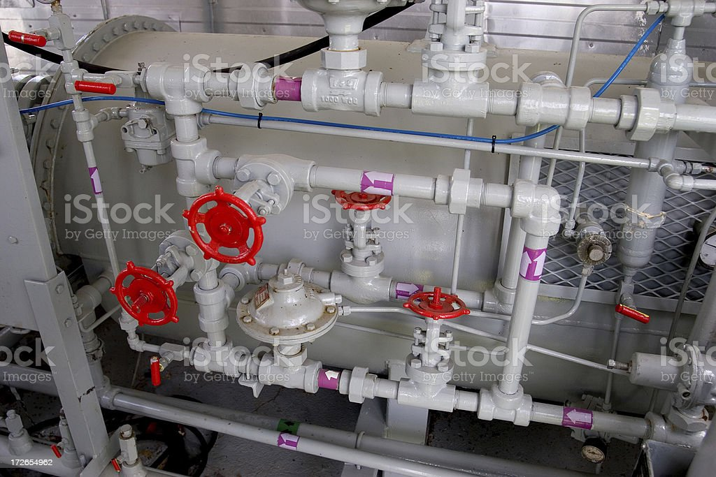 Oilfield Technology stock photo