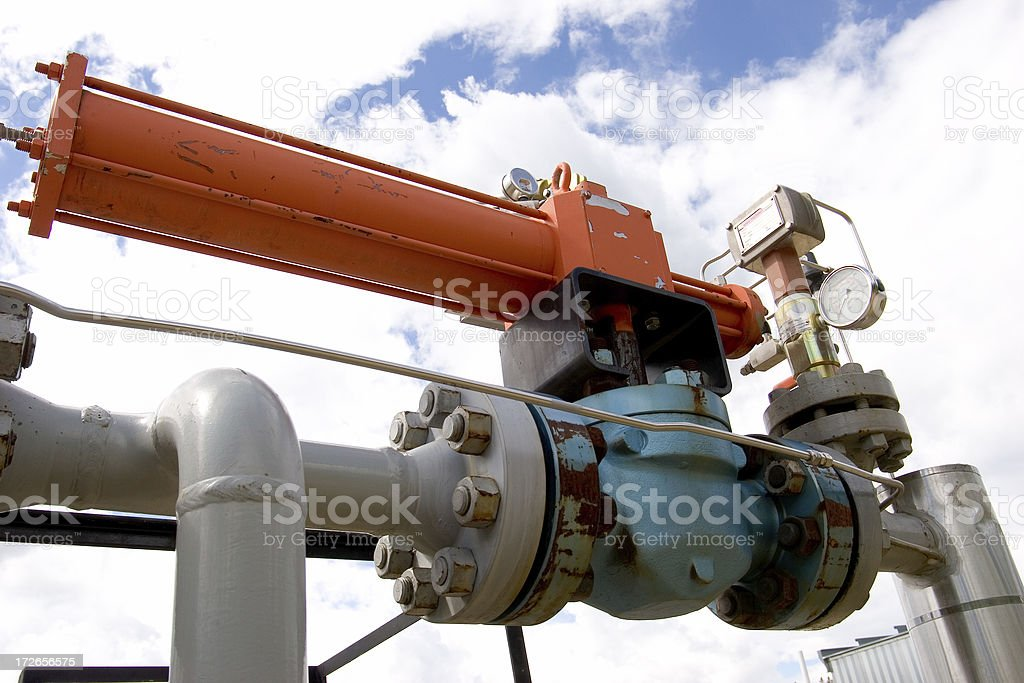 Oilfield Technology # 2 stock photo