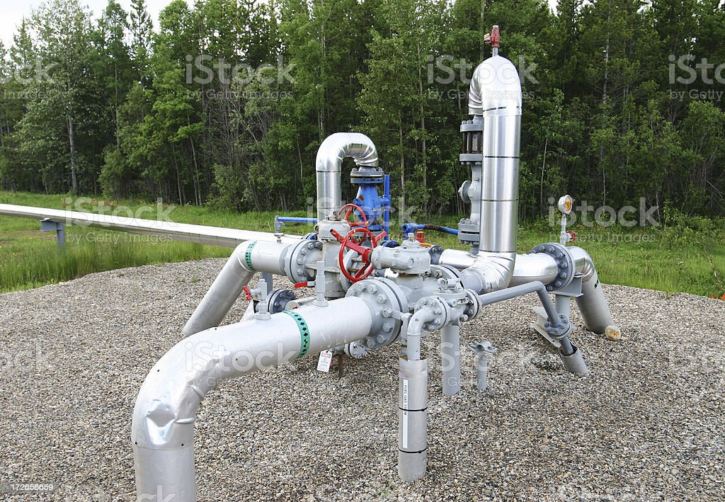 Oilfield Technology # 8 stock photo
