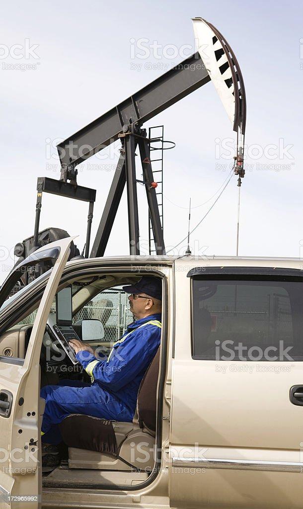 oilfield technology stock photo