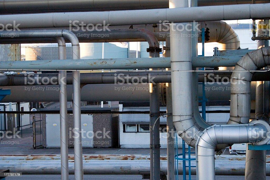Oilport royalty-free stock photo