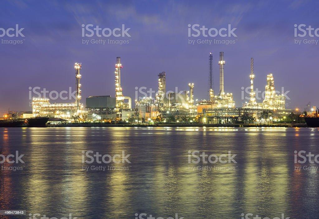 oilrefinery royalty-free stock photo