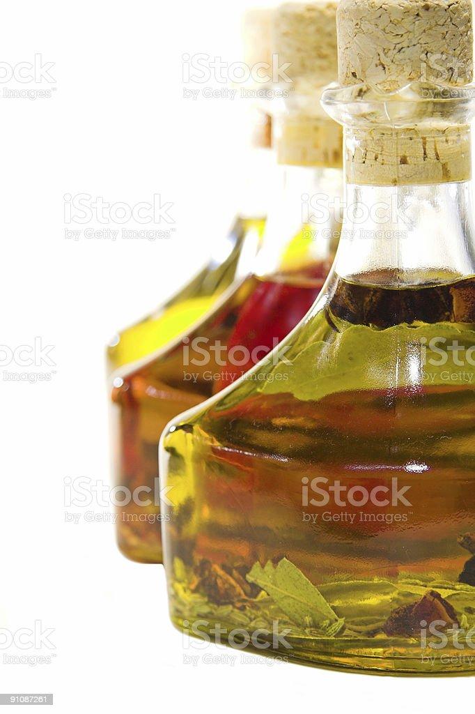 Oils close up royalty-free stock photo