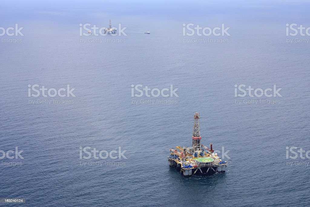 Oils Rigs royalty-free stock photo
