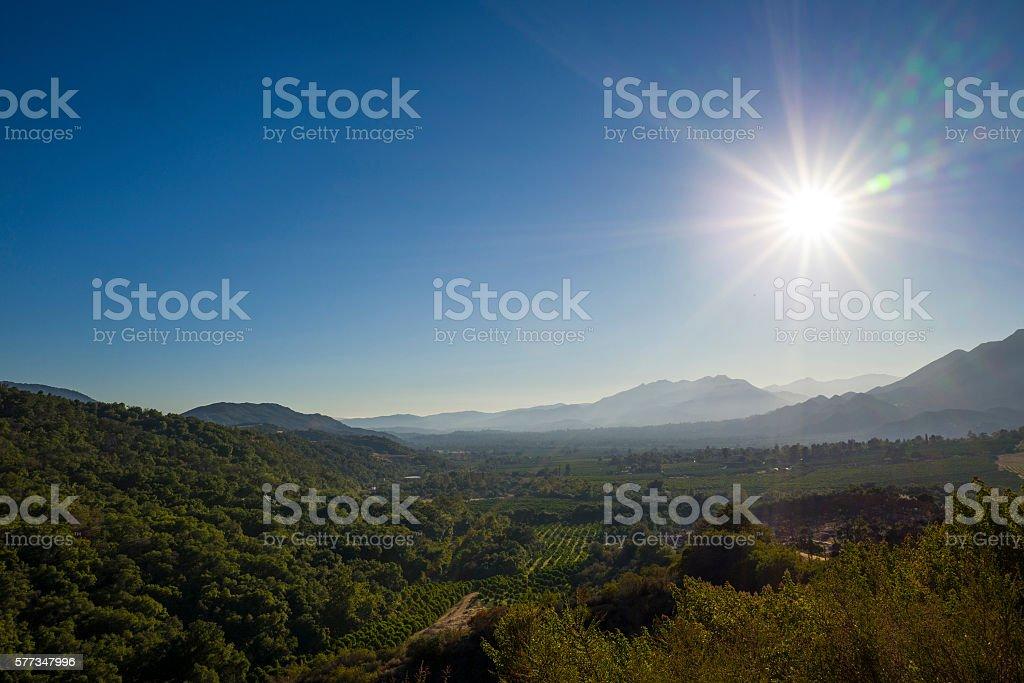 Ojai Valley stock photo