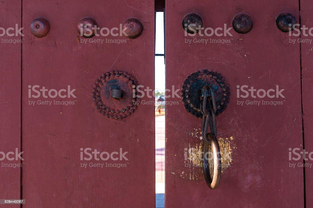 Ojukheon gate stock photo