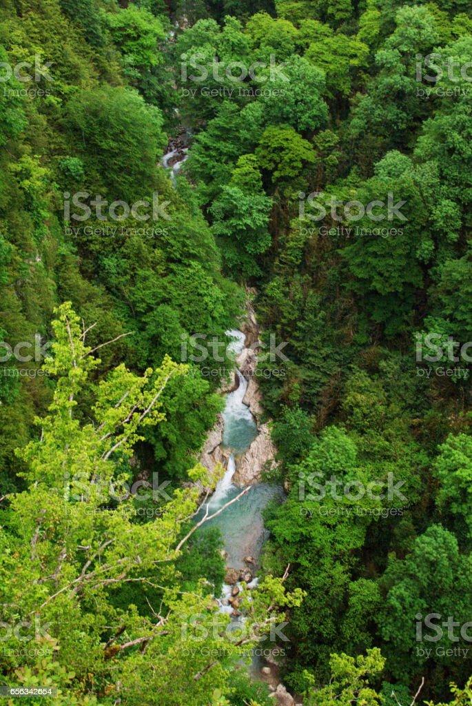 Okace Canyon stock photo