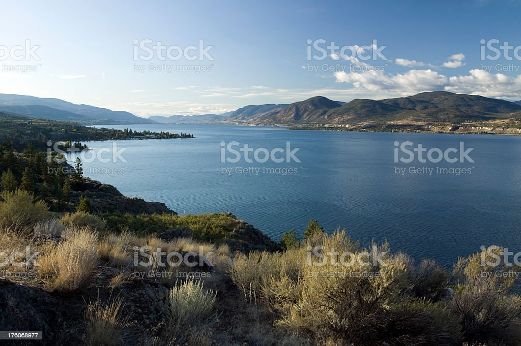 okanagan valley penticton british columbia royalty-free stock photo