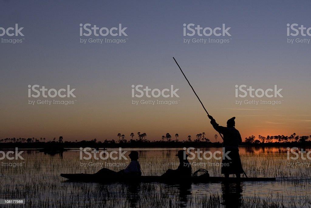 Okanvango Delta, Botswana stock photo