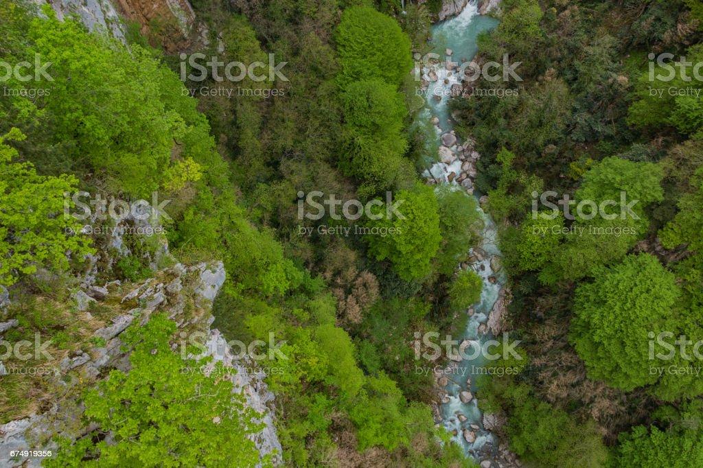 Okatse Canyon I stock photo