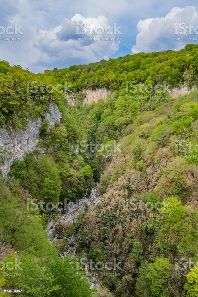 Okatse Canyon VI stock photo