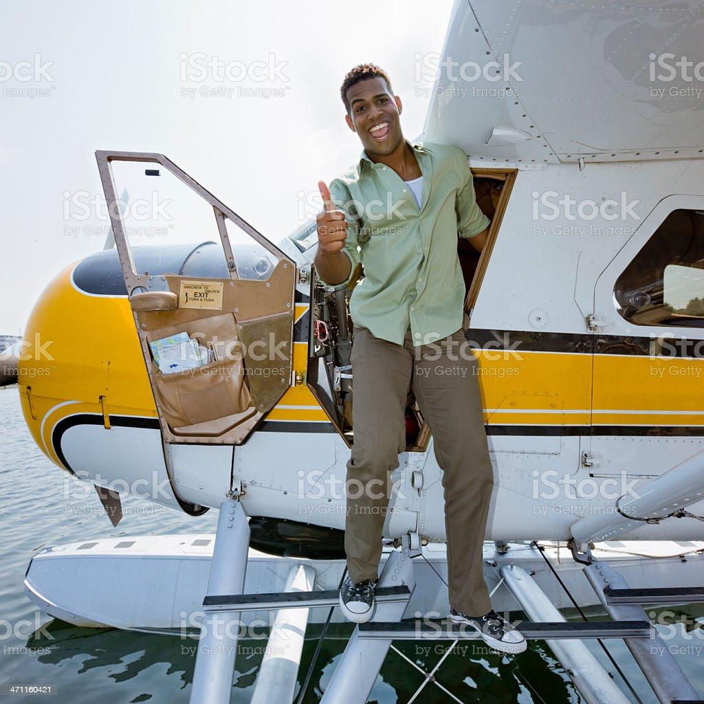 Okay, Seaplane. royalty-free stock photo