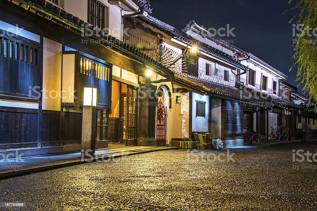 Okayama Street stock photo