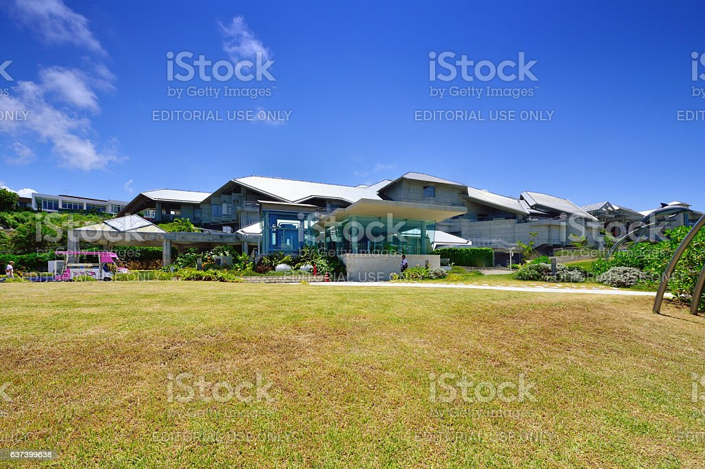 Okinawa Churaumi Aquarium stock photo