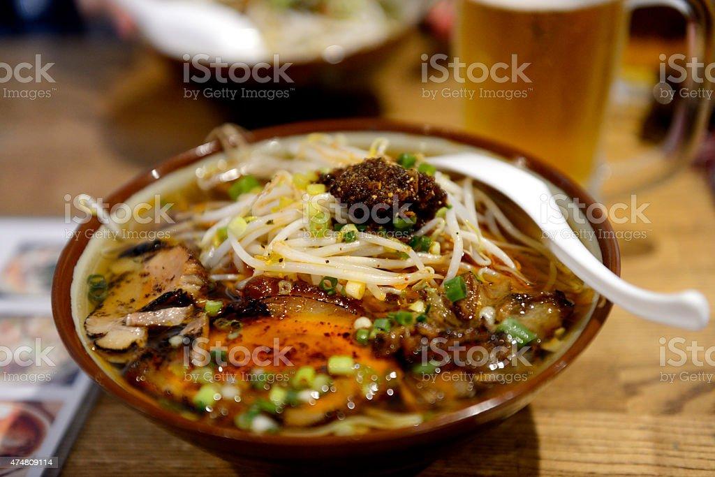 Okinawan Soba stock photo