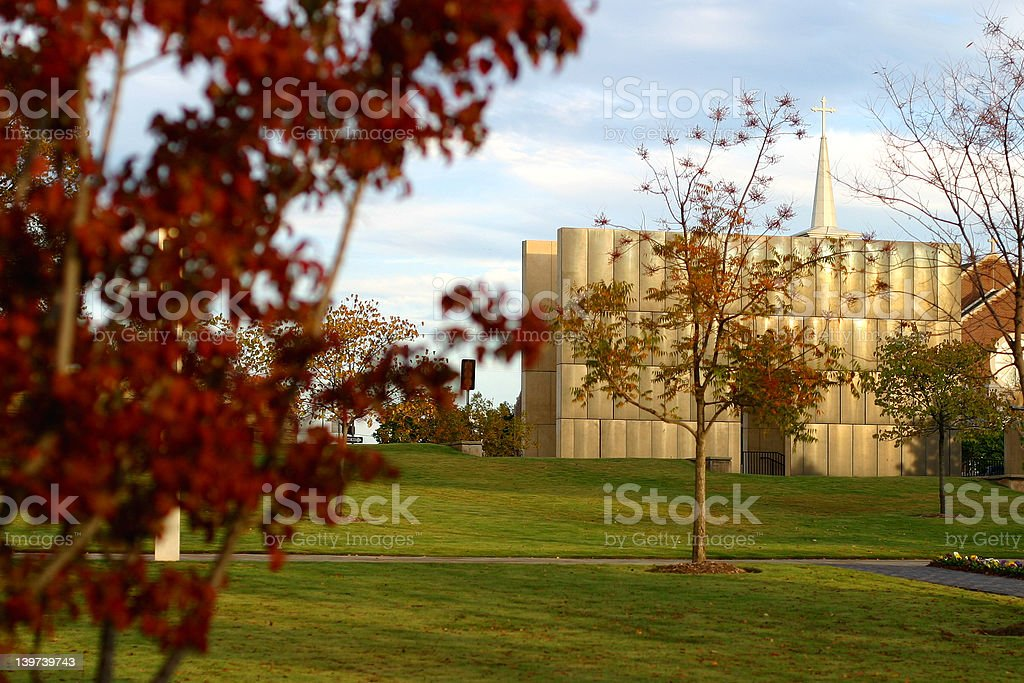 Oklahoma City Bombing Memorial royalty-free stock photo