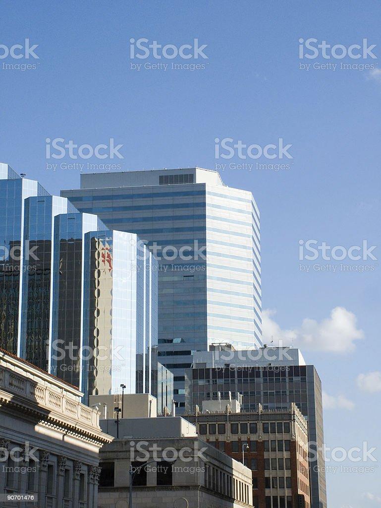 Oklahoma City - Morning royalty-free stock photo