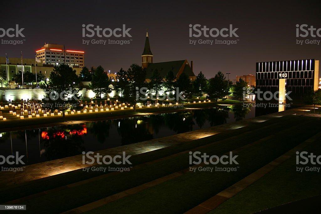 Oklahoma City National Memorial 5 royalty-free stock photo