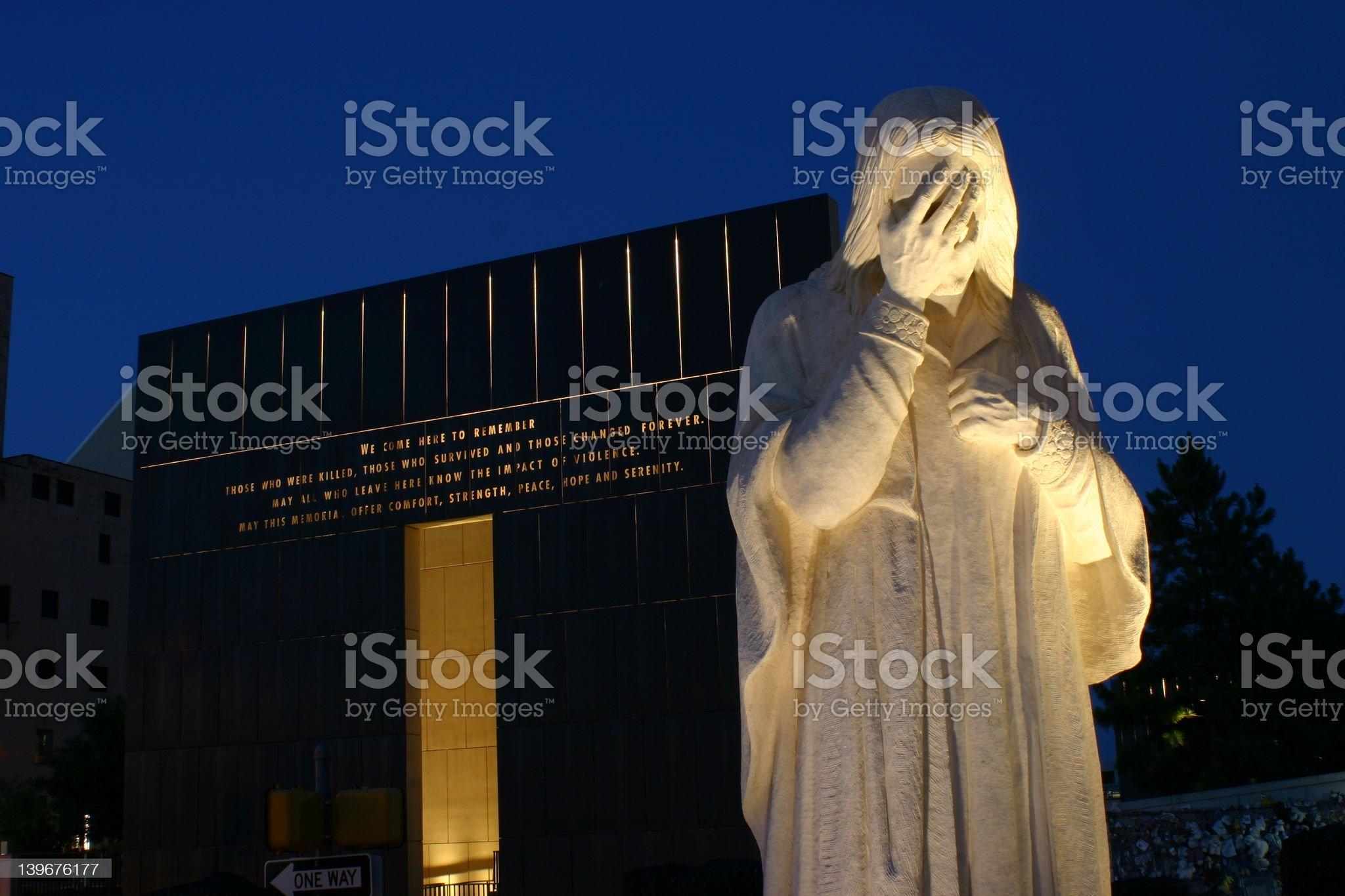 Oklahoma City National Memorial 6 royalty-free stock photo