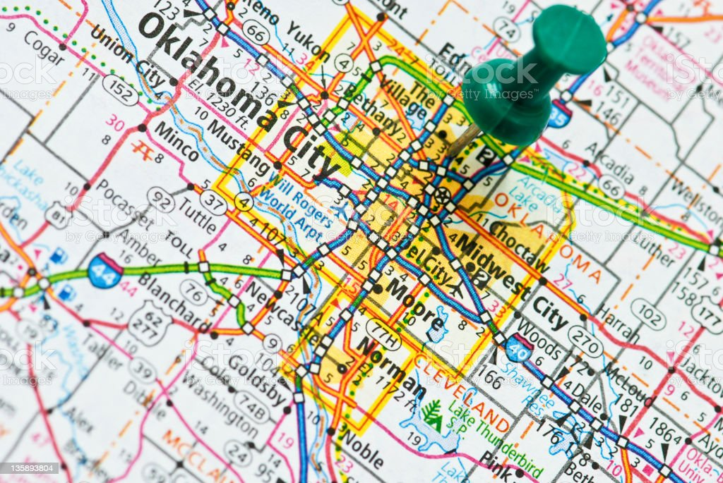 Oklahoma City royalty-free stock photo