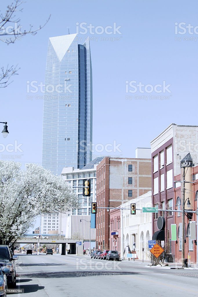 Oklahoma City royalty-free stock photo