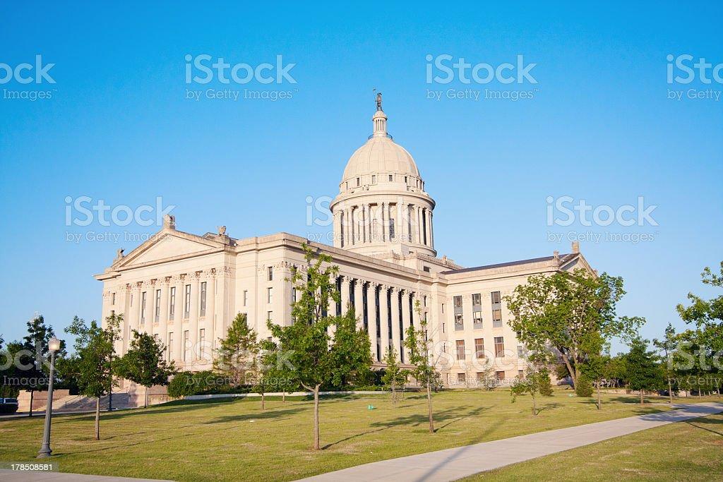 Oklahoma City - State Capitol Building royalty-free stock photo