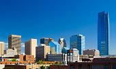 Oklahoma downtown skyline featuring Devon Energy Center