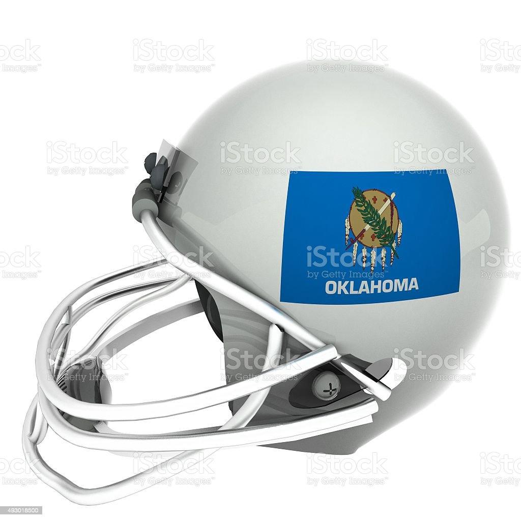 Oklahoma football stock photo