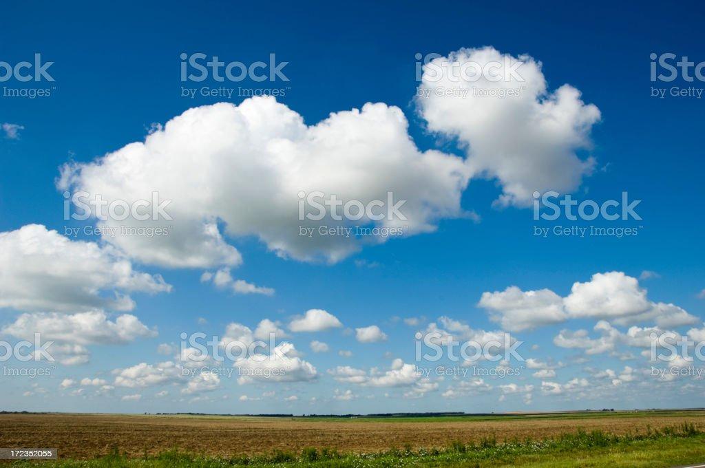 Oklahoma Horizon stock photo
