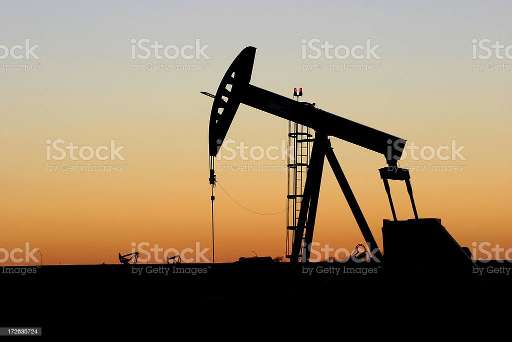 Oklahoma Oil Pump II stock photo
