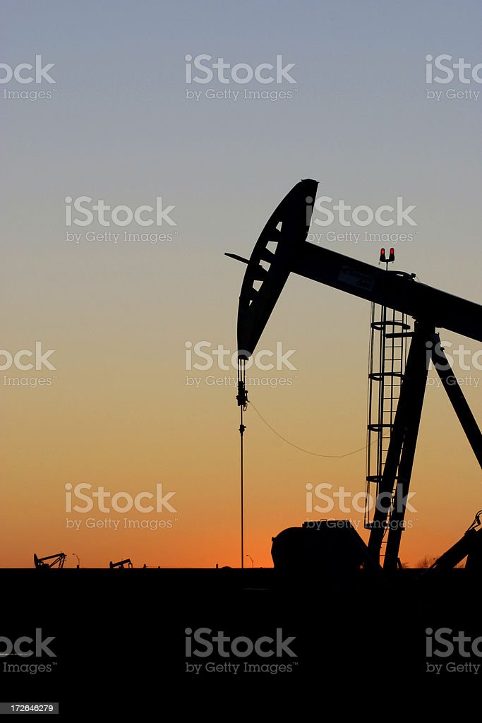 Oklahoma Oil Pump III stock photo