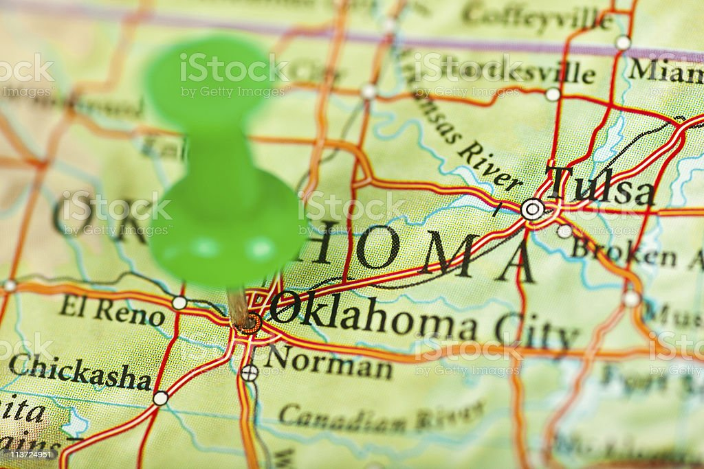Oklahoma, OK royalty-free stock photo
