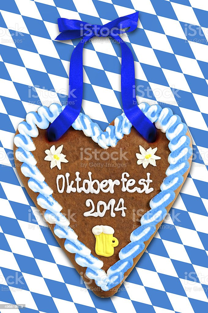 Oktoberfest 2014 Gingerbread royalty-free stock photo