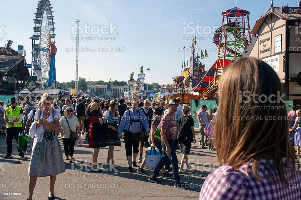 Oktoberfest 2016 stock photo