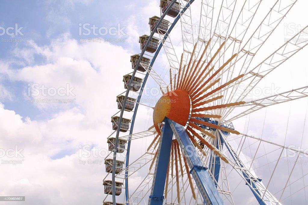 Oktoberfest 7: Giant Wheel stock photo
