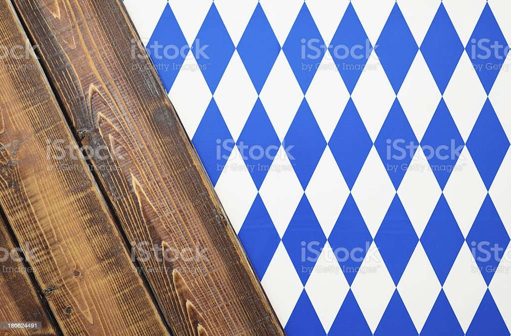 Oktoberfest Bavarian Background royalty-free stock photo