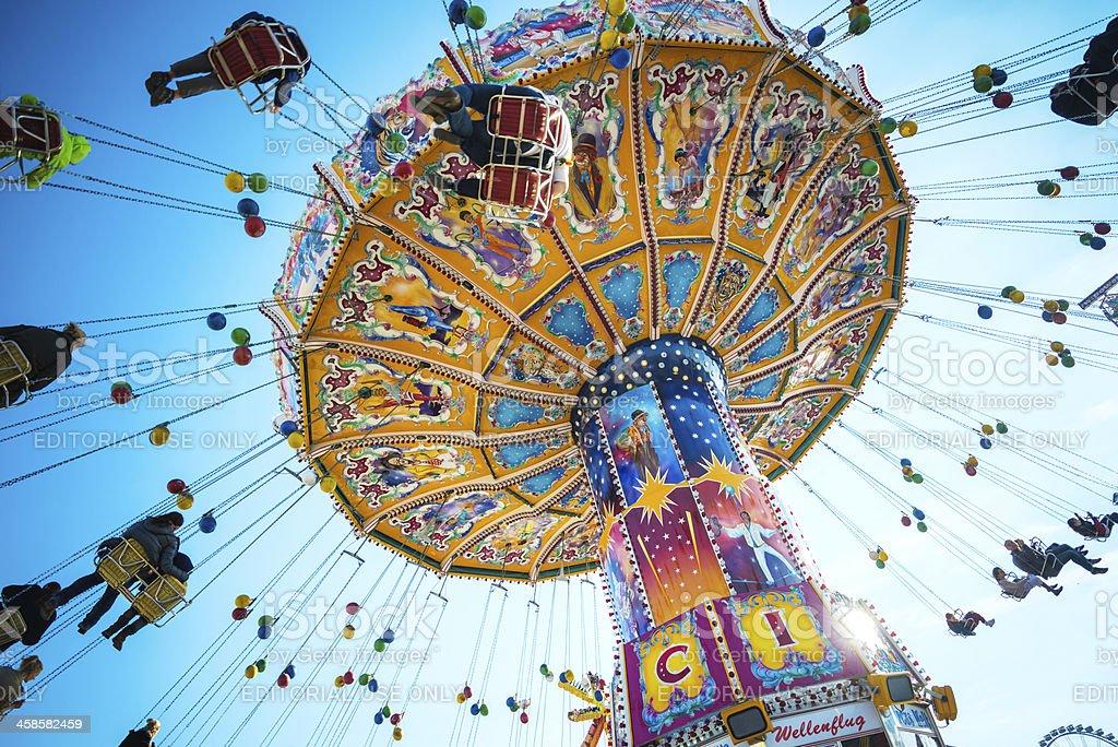 Oktoberfest Carousel royalty-free stock photo