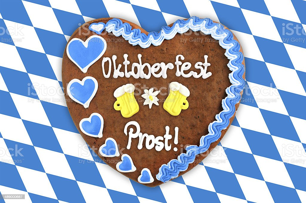 Oktoberfest Gingerbread stock photo