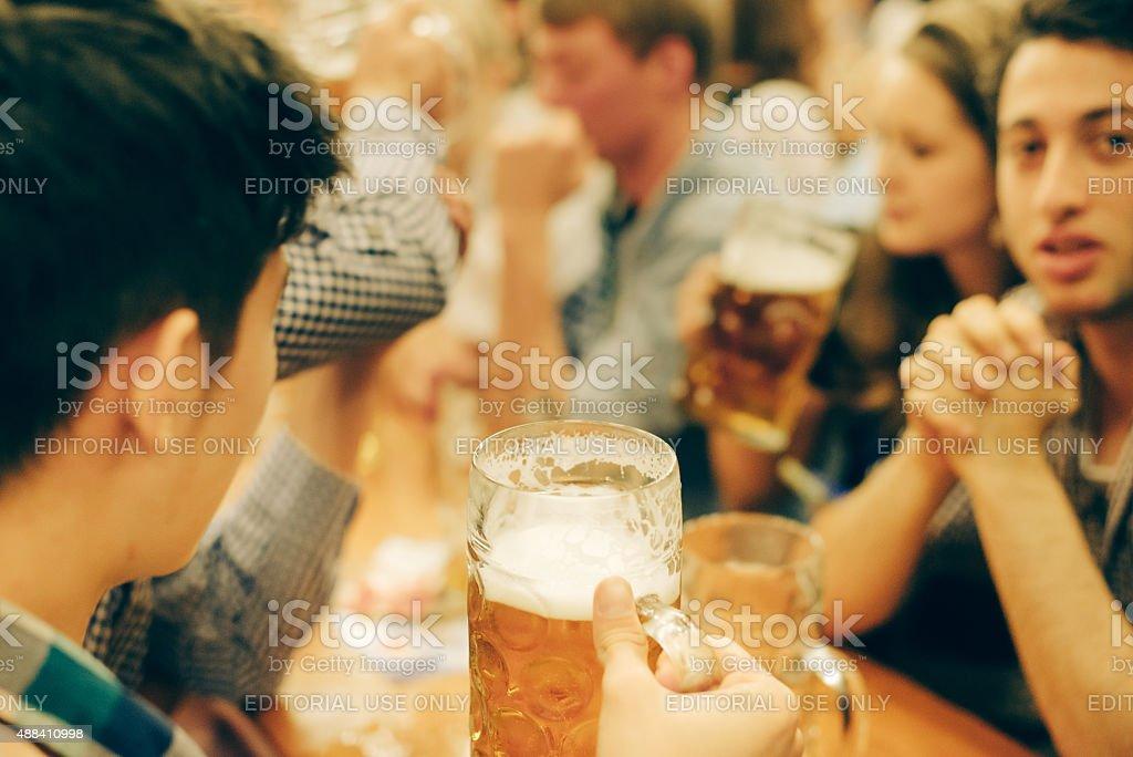 Oktoberfest in Munich, Germany stock photo