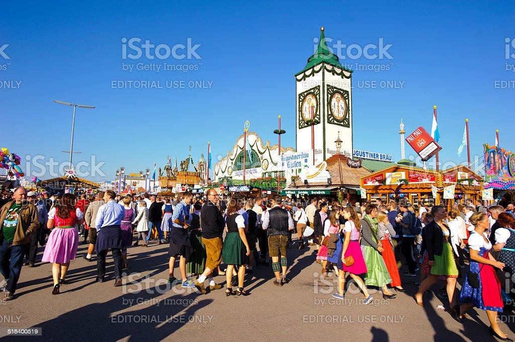 Oktoberfest in Munich stock photo