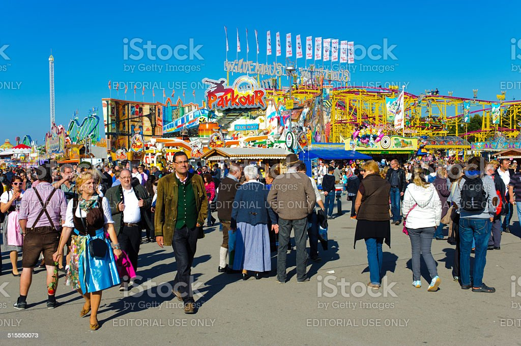 Oktoberfest in Munich stock photo