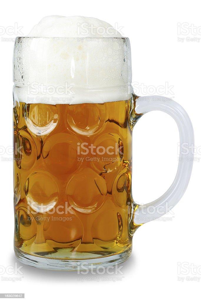 Oktoberfest Maaß - Beer Mug stock photo